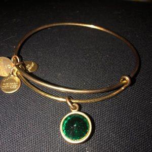 Alex and Ani Jewelry - Gold 'May' Birthstone Alex & Ani Bracelet